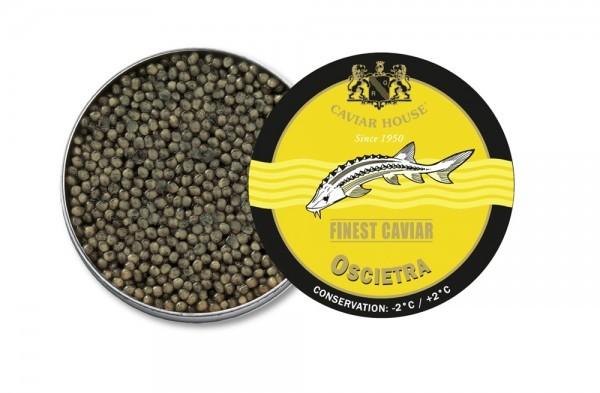 Caviar House Finest Caviar Oscietra Vacuum Tin