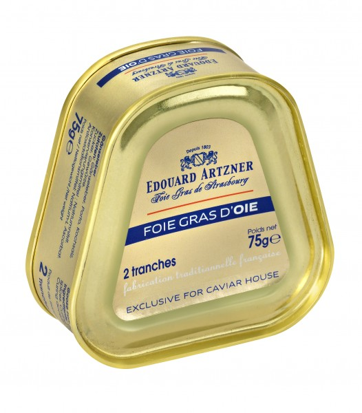 Whole goose liver - 75g tin