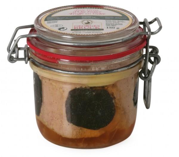 Goose Foie Gras with 3% Truffle Jar- 180g