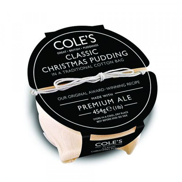 Coles Classic Christmas Pudding with Premium Ale
