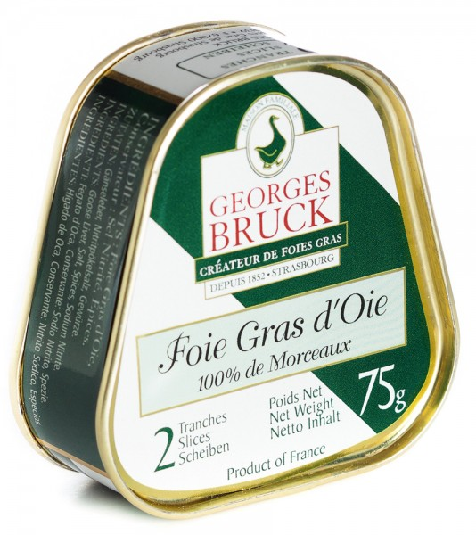 Whole goose liver - 75g tin