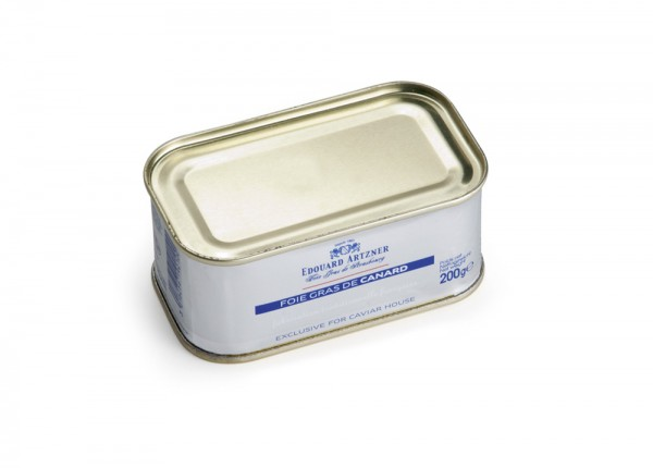 Whole duck liver - 200g tin