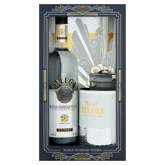 Beluga Noble Russian Vodka Gift Set