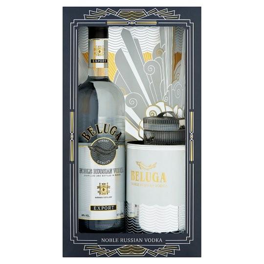 Beluga Noble Russian Vodka Gift Set