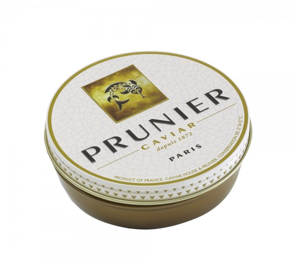 Prunier Paris Vacuum Tin